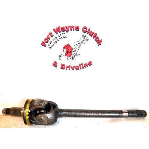 1994-1999 DODGE RAM 2500 3500 ABS DRIVER SIDE FRONT MODEL 60 DISCONNECT  STYLE AXLE SHAFT - SKU# 76628X