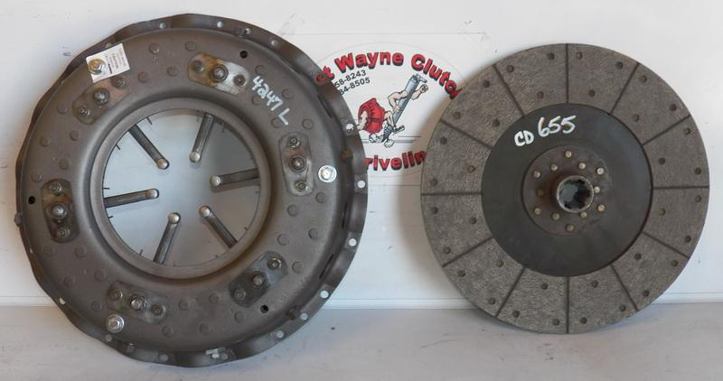 1951-1962 GMC PARLOR COACH PD4103 PD4104 6V-71 PRESSURE PLATE CLUTCH - SKU#  MU4247