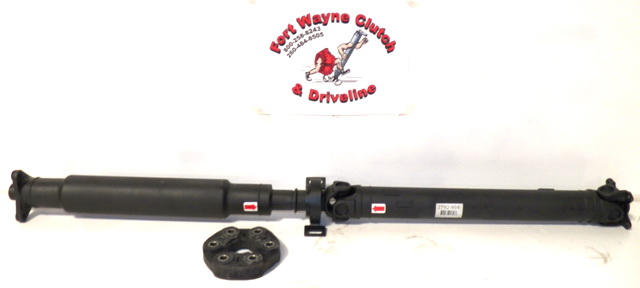 2000~2005 BMW 325xi, 330xi AUTO, MAN E46 CHASSIS REAR DRIVESHAFT ASSEMBLY w  FLEX DISC COUPLING JOINT - SKU# 2792-959, 7502959A103