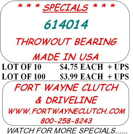 National 619004 Clutch Release Bearing Assembly
