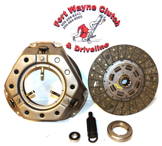 Ford Clutch Assembly : Ford f series pickup truck remanufactured