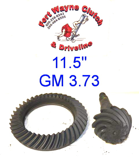 11 5 Quot Ring And Pinion Kit 2001 2015 Chevy Silverado Gmc Sierra 2003 2013 Dodge Ram Rear 14