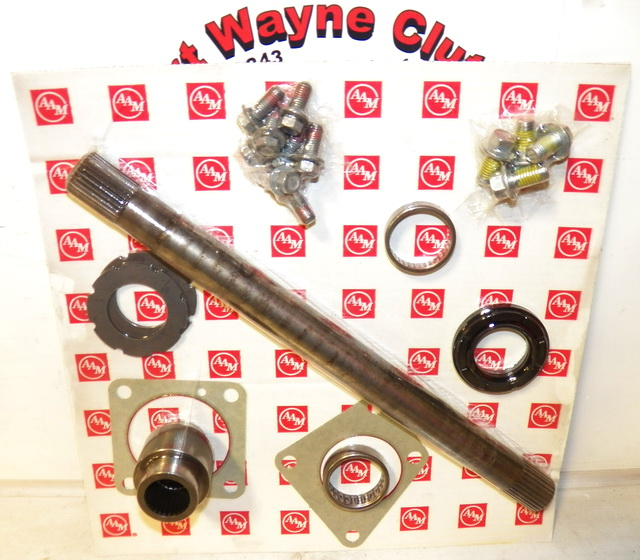 2006 Hummer H3 7 6 Quot Ifs Awd Diff Axle Output Shaft Disconnect Shift Assembly Kit Sku