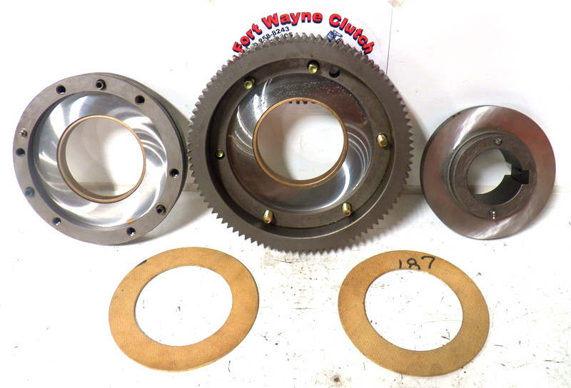 Materials Used In Clutch Linings : Brake friction linings disc relining press