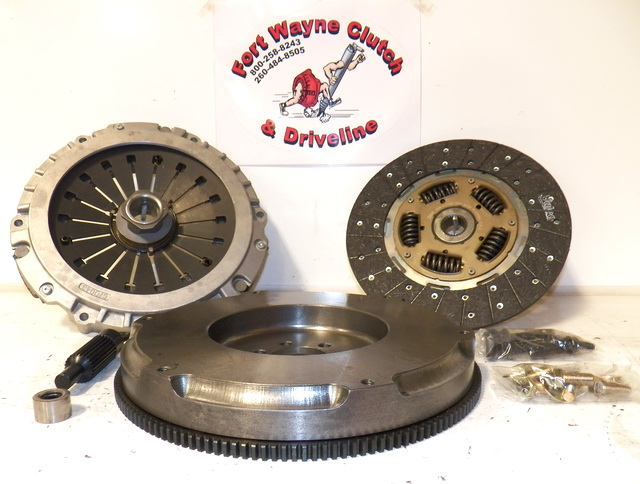 1989 1993 Corvette Clutch Kit W Flywheel For V8 Applications Non Zr1 Lt5 Engines Sku 04