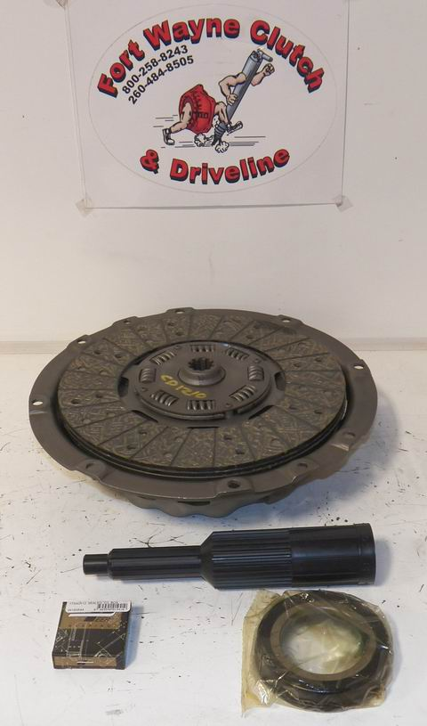 Ford 4000 Clutch Kit : Ford su tractor clutch kit remanufactured